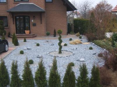 vorgarten mit steinen – godsriddle, Garten und erstellen